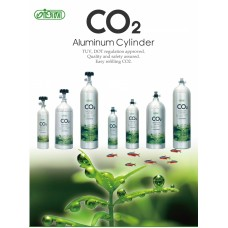Butelie CO2 Aluminu 1L Premium Face Up